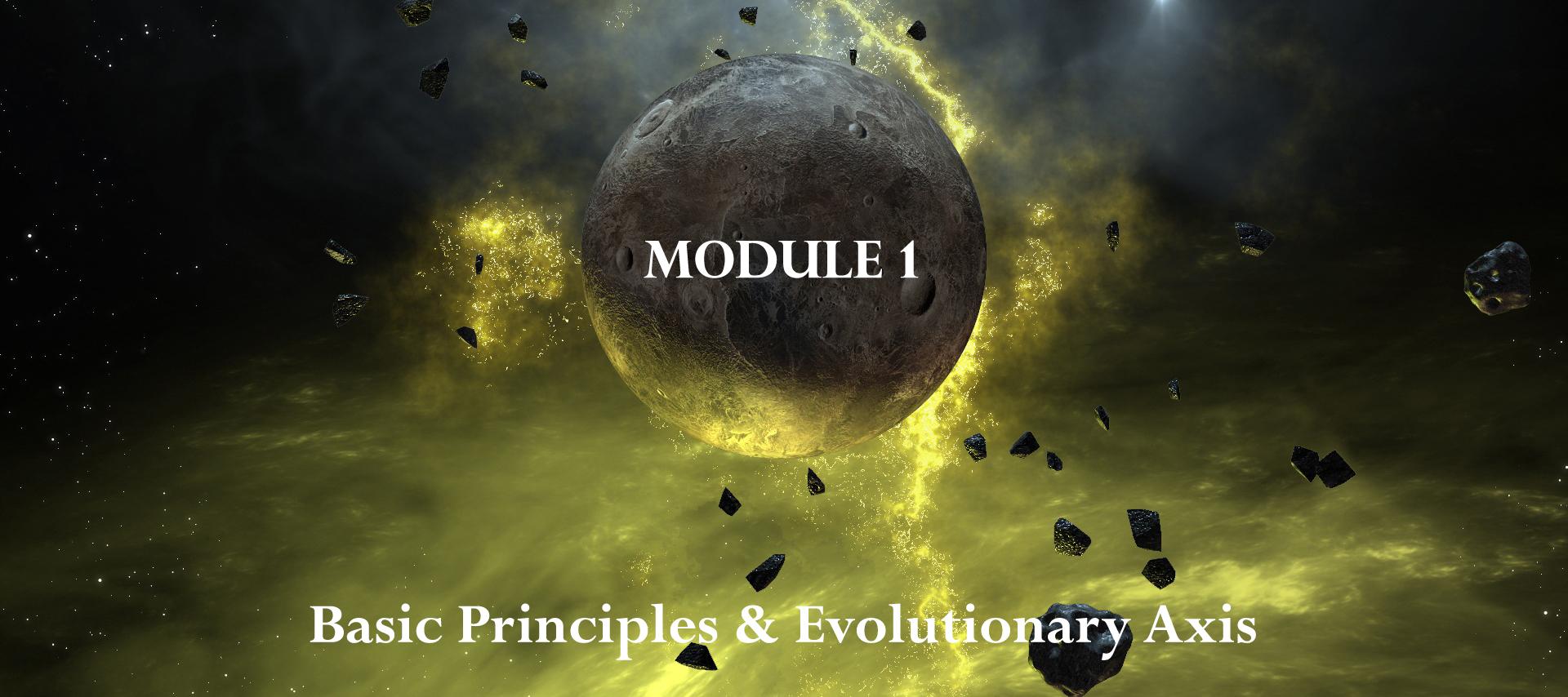Module 1: Basic Principles & Evolutionary Axis